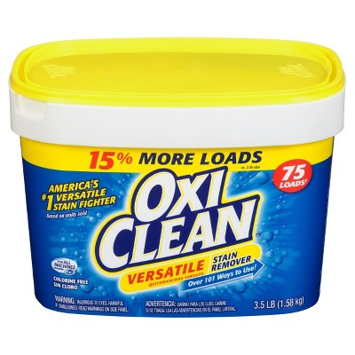 OxiClean Versatile Stain Remover Powder - 3.5lbs