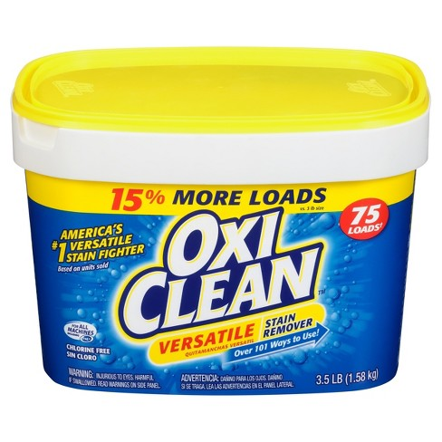 Oxiclean Versatile Stain Remover Powder 35lbs Target