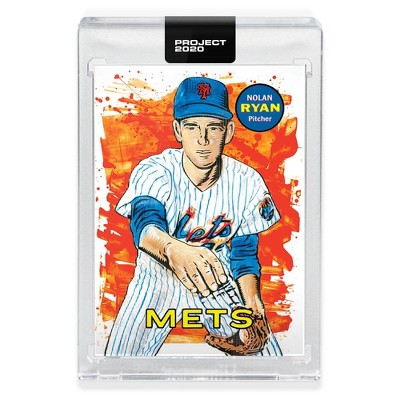 """Topps Topps PROJECT 2020 Card 18 - 1969 Nolan Ryan by Blake Jamieson Includes 1 - 2.5""""x3.5"""" trading card encased in one-touch magnetic case"""