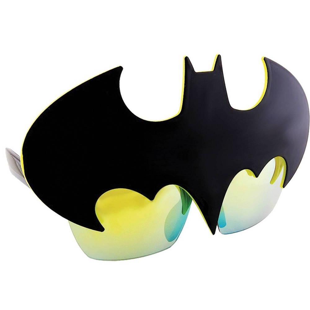Image of Sunstache Batman Symbol Glass Black