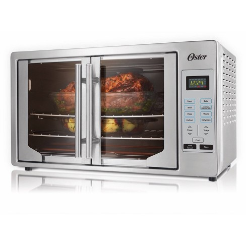 Oster French Door Digital Toaster Oven - Silver - image 1 of 4