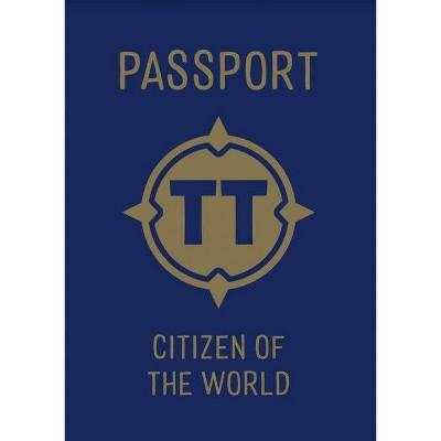 Tiny Travelers Passport - by  Steven Wolfe Pereira & Susie Jaramillo (Leather Bound)