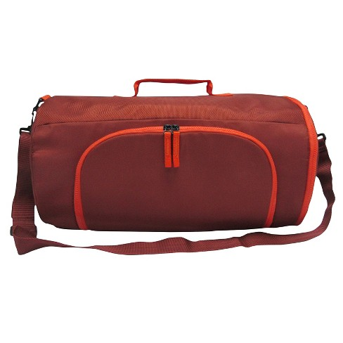 Men's Duffel Brick House Weekender Bag - Goodfellow & Co™ Red One Size - image 1 of 1