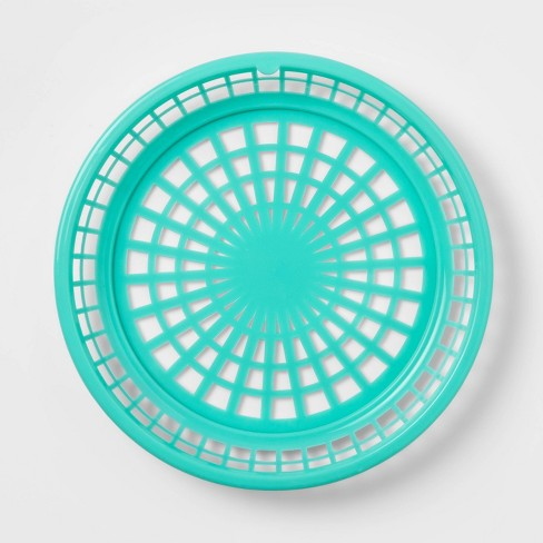 6pk Round Paper Plate Holder - Summer Colors  - Sun Squad™ - image 1 of 3