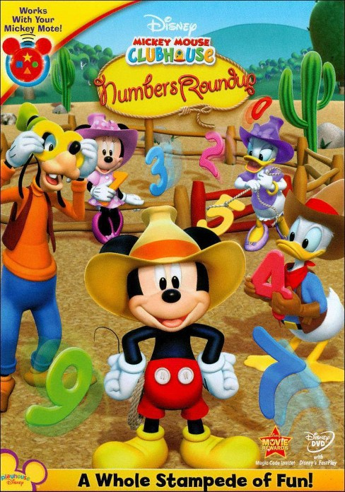 Mickey Mouse Clubhouse: Mickey's Numbers Roundup - image 1 of 1