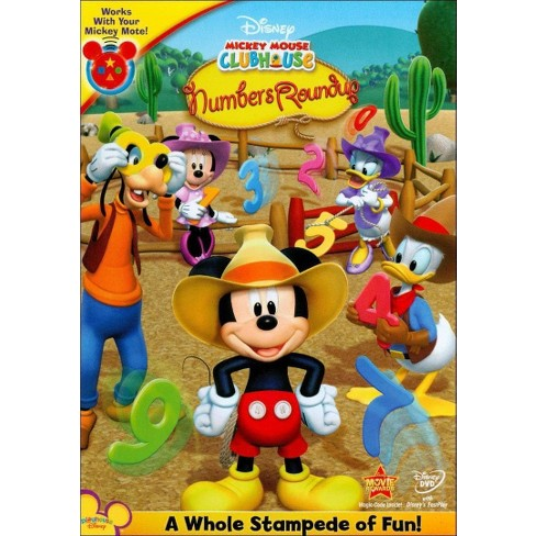 Mickey Mouse Clubhouse: Mickey's Numbers Roundup (DVD) - image 1 of 1