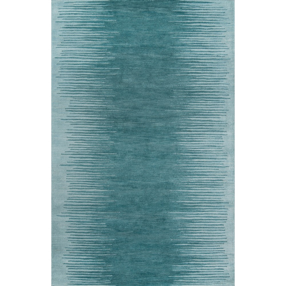 5'X8' Shapes Area Rug Aqua - Momeni, Blue