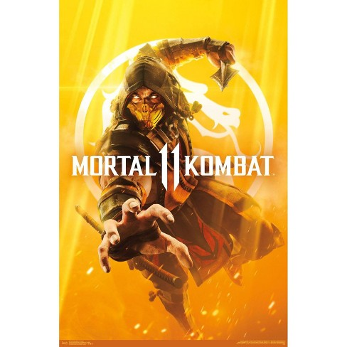 "34""x23"" Mortal Kombat 11 Key Art Unframed Wall Poster Print - Trends International - image 1 of 1"
