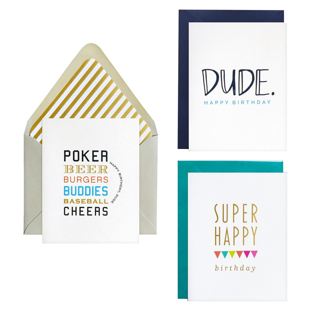 Image of 3ct Dude Notecards