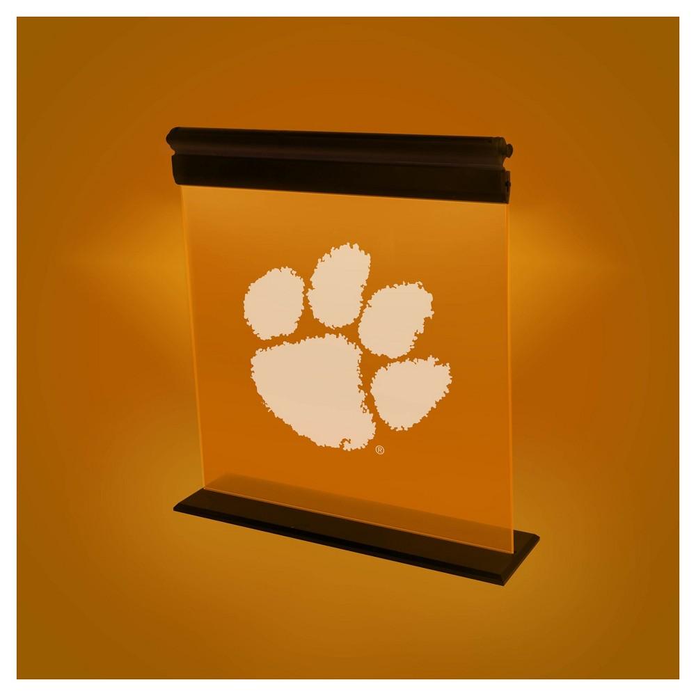 NCAA Clemson Tigers Acrylic Neon Led Light