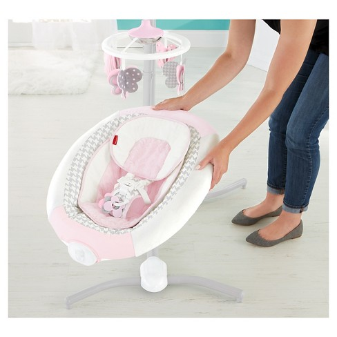 Fisher Price Deluxe Cradle N Swing Butterfly Friends Target