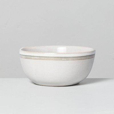 Stoneware Green Stripes Mini Bowl Sour Cream - Hearth & Hand™ with Magnolia