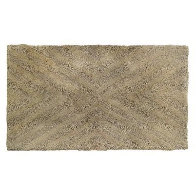 Textured Stripe Bath Rug (23 X38 )Khaki Tan - Project 62™ + Nate Berkus™