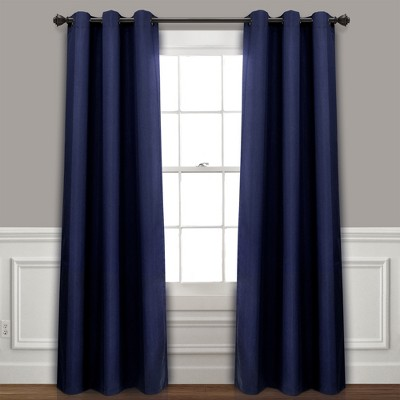 Set of 2 Absolute Blackout Window Curtain Panels - Lush Décor