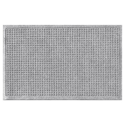 Medium Gray Solid Doormat - (2'X3')- Bungalow Flooring