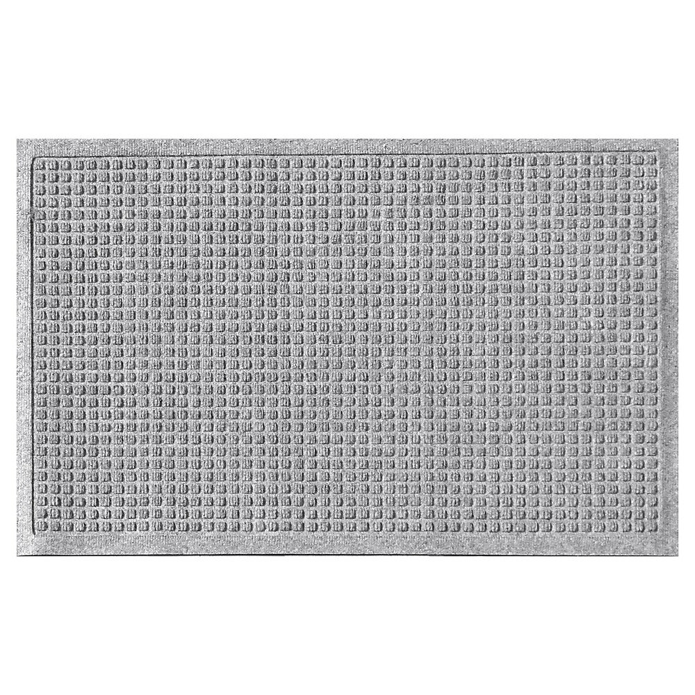 Image of Medium Gray Solid Doormat - (2'X3') - Bungalow Flooring
