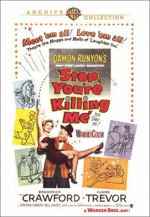 Stop you're killing me (DVD) - image 1 of 1
