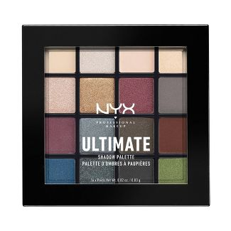 NYX Professional Makeup Ultimate Eyeshadow Palette Smokey & Highlight 0.46oz