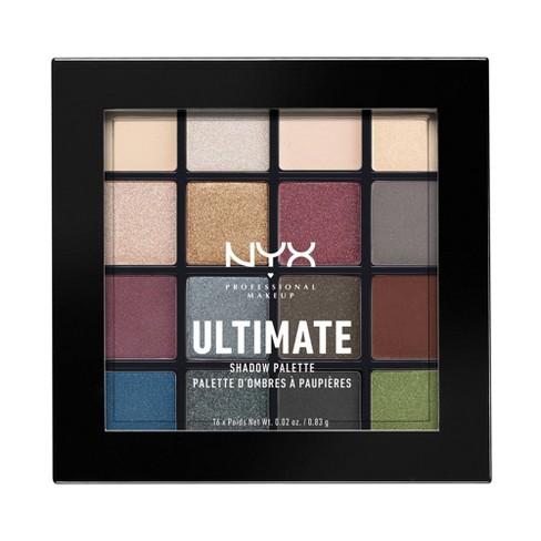 NYX Professional Makeup Ultimate Eyeshadow Palette Smokey & Highlight 0.46oz - image 1 of 4