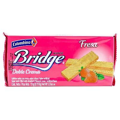 Colombina Bridge Strawberry Wafers - 5.33oz