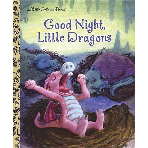 Good Night, Little Dragons - (Little Golden Book) by  Leigh Ann Tyson (Hardcover) - image 1 of 1