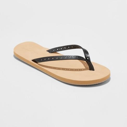a026d98b57c9 Women s Demi Flip Flop Sandal - Universal Thread™ Black 9   Target