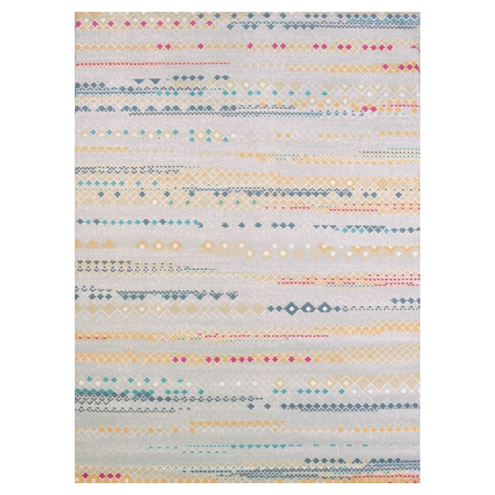 "Image of ""Dash Hooked Area Rug 5'3""""X7' - United Weavers of America"""