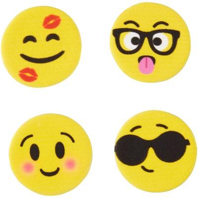Wilton Emoji Icing Decorations - 12ct