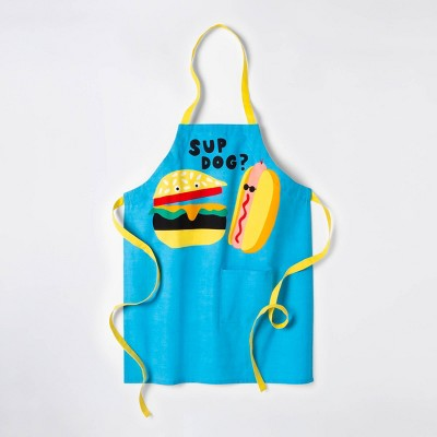Sup Dog? Grill Cooking Apron - Blue - Sun Squad™
