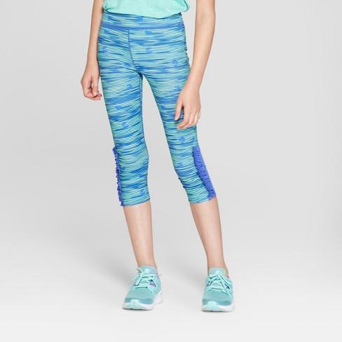 f359008ba9c30 Girls' Ruffle Printed Capri Leggings - C9 Champion® : Target