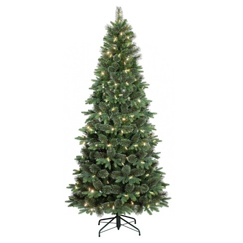 7.5ft Prelit Artificial Christmas Tree Balsam Fir LED Lights Connectivity  Control Bluetooth - Wondershop™ - 7.5ft Prelit Artificial Christmas Tree Balsam Fir... : Target