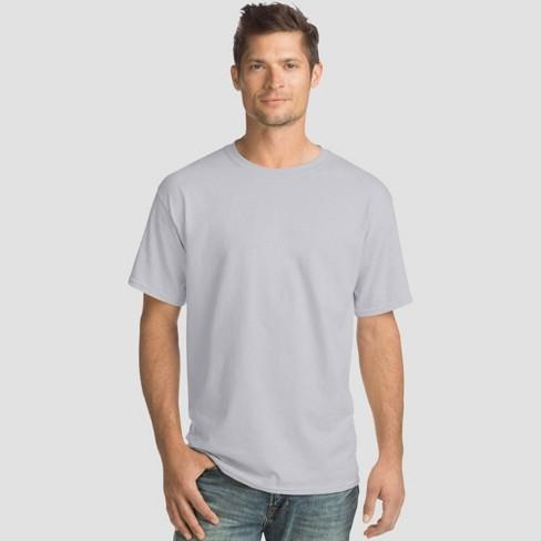 Hanes Men's Comfort Wash Short Sleeve T-Shirt 4pk - image 1 of 2