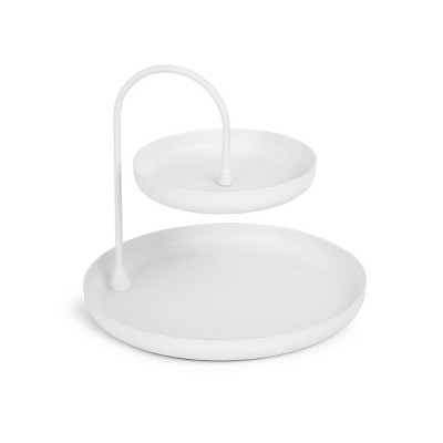 Poise Two Tiered Tray White - Umbra