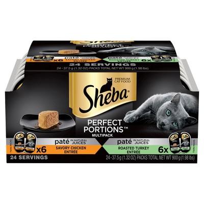 Cat Food: Sheba Perfect Portions Paté