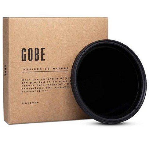 Gobe ND2-32 62mm 8-Layer Multi-Resistant Coating 1-5 Stops Variable Neutral Density Filter - image 1 of 4