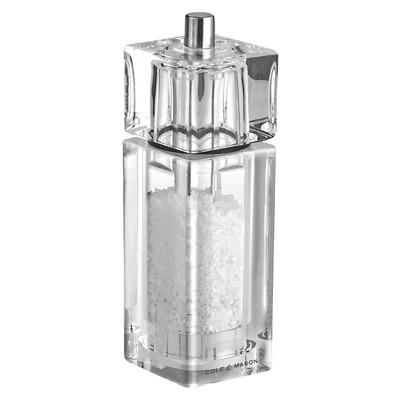 Cole & Mason Square Acrylic Salt Grinder
