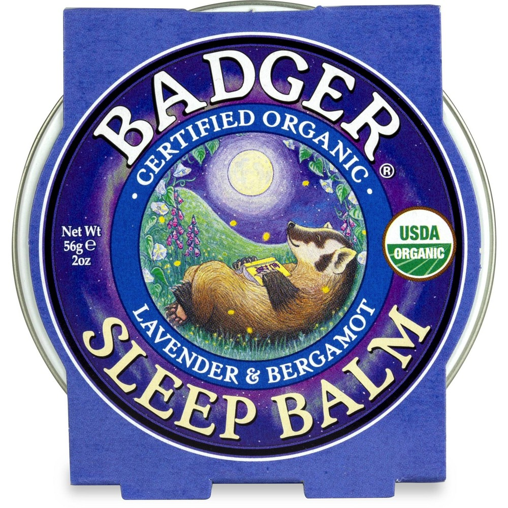 Image of Badger Sleep Balm - 2oz, hand and body lotions