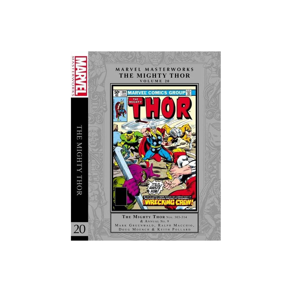 Marvel Masterworks The Mighty Thor Vol 20 Hardcover