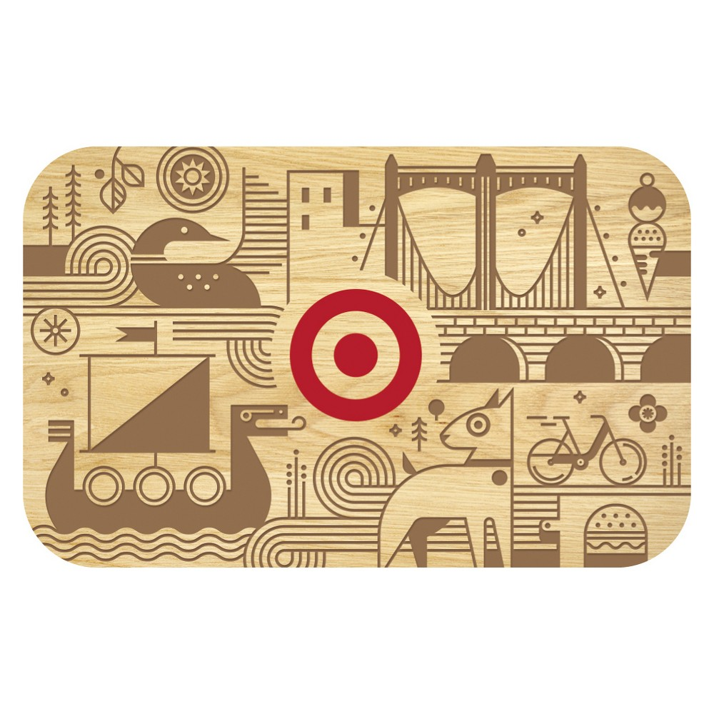 MN Mural GiftCard $15, Target Giftcards