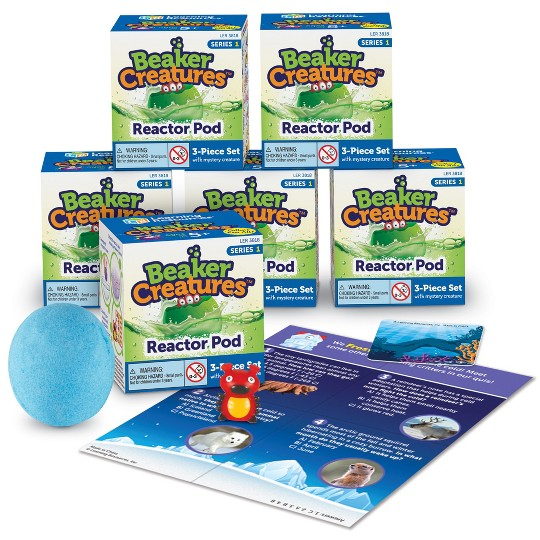 Learning Resources Beaker Creatures 6pc image number null