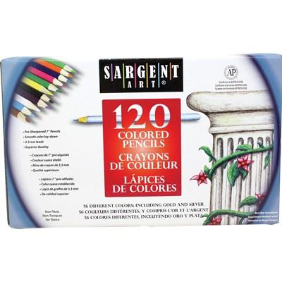 Sargent Art Colored Pencils 120Ct 227252