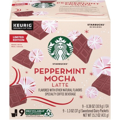 Coffee Pods: Starbucks Caffe Latte K-Cup Pods