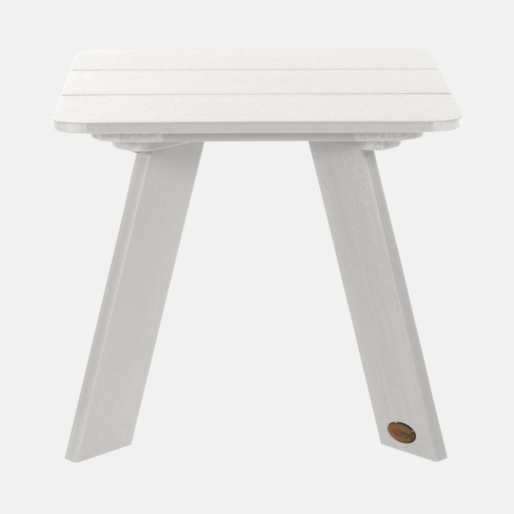 Image of Barcelona Modern Patio Side Table White - highwood