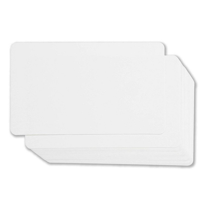 Juvale Blank Index Cards - 100-Count Rounded Blank Flash Cards, For Business Cards Message Cards, DIY Gift Cards, White, 3 X 5 Inches : Target