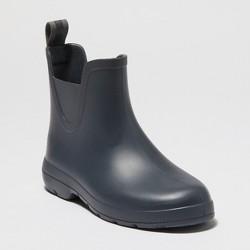 Women's Totes Cirrus Chelsea Short Rain Boots - Gray 11