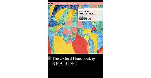 Oxford Handbook of Reading (Hardcover) - image 1 of 1