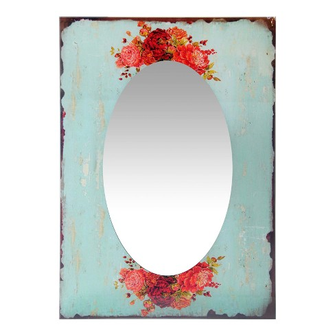 "Country Garden 27.5"" X 19.75"" Wall Mirror - Infinity Instruments - image 1 of 4"