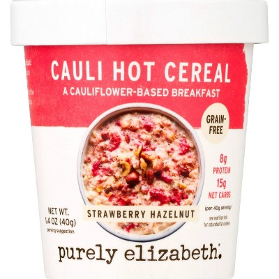 Purely Elizabeth Cereal Cup - Strawberry Hazelnut