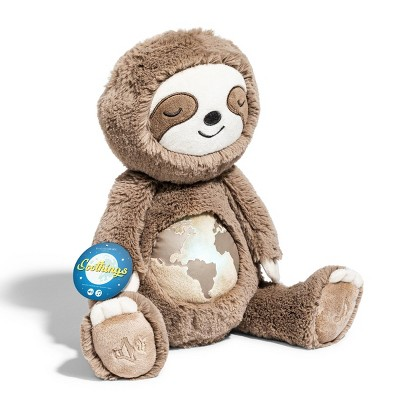 """FAO Schwarz Soothings Endangered Earth Sloth - 10"""" Toy Plush"""