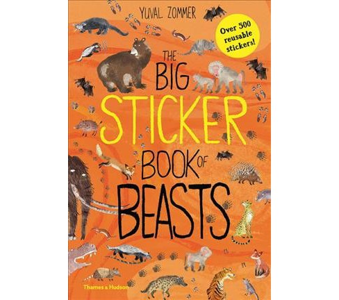 Big Sticker Book of Beasts (Paperback) (Yuval Zommer) - image 1 of 1